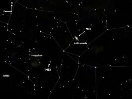 Andromeda Location