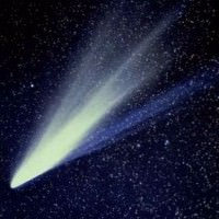 Picture of a Comet