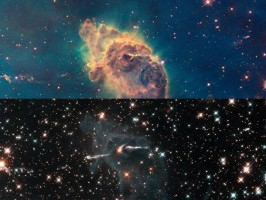 A Pillar of Dust and Gas Within the Carina Nebula