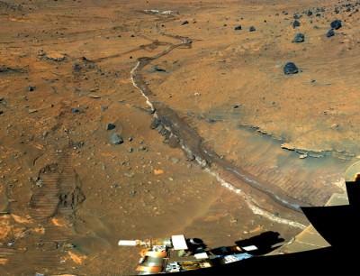 Mars Ravine