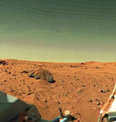 Mars Skyline