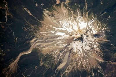 Mountain Top seen from Outer Space