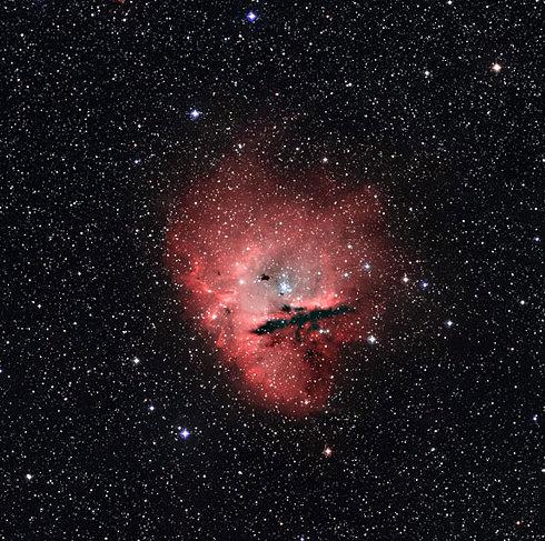 pacman nebula - photo #33