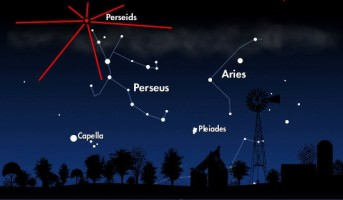 Perseid Meteor Shower 2010