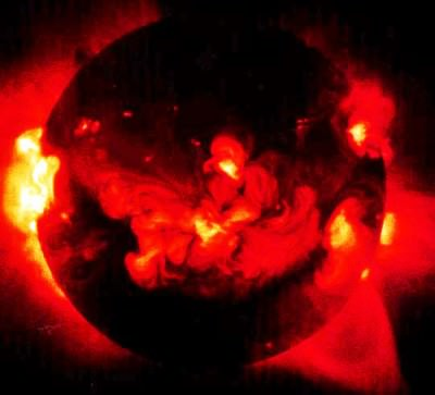 Picture of our sun