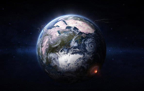 earth from outer space - photo #17