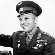 Yuri Gagarin first man in outer space