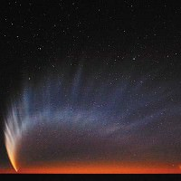 Comets Outer Space