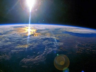 Earth Curvature Seen from Space