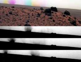 Martian Dust Devils caught by the Spirit Rover
