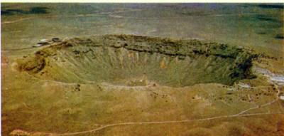 Meteors Craters