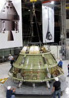 Orion Spacecraft Construction